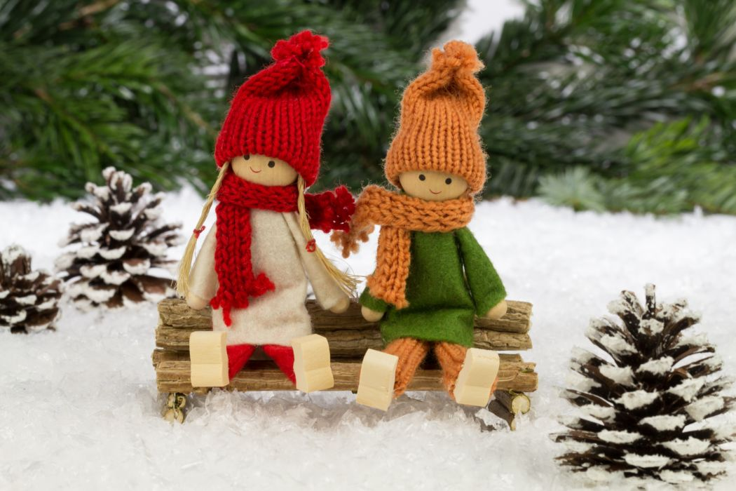 Toys Winter hat Pine cone Doll wallpaper