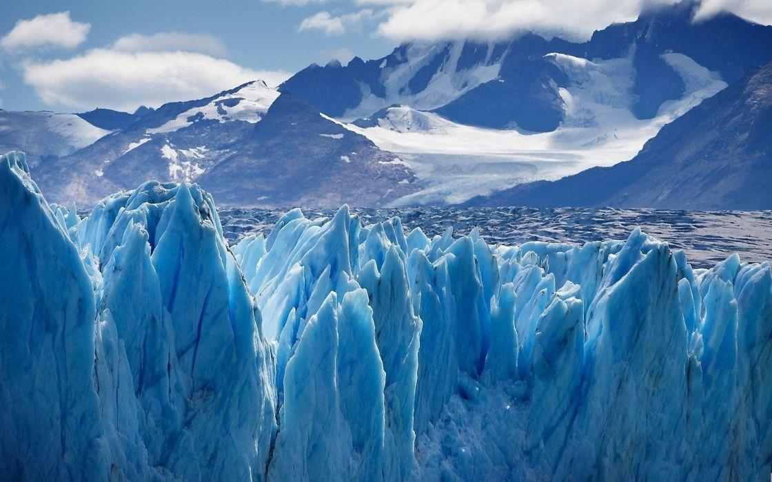 winter mountains snow ice torossy wallpaper
