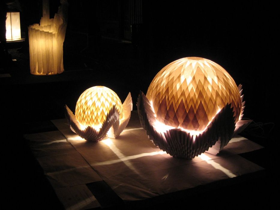 Japanese lantern lamp light asian oriental bokeh psychedelic art     g wallpaper