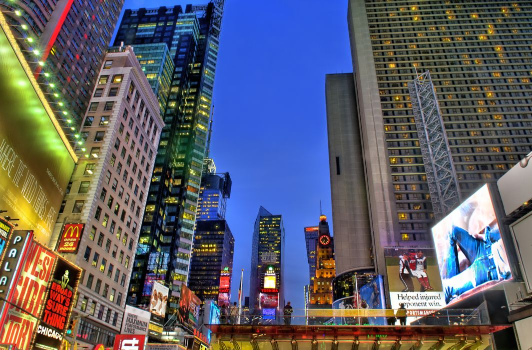 Times Square new york usa city cities    f wallpaper
