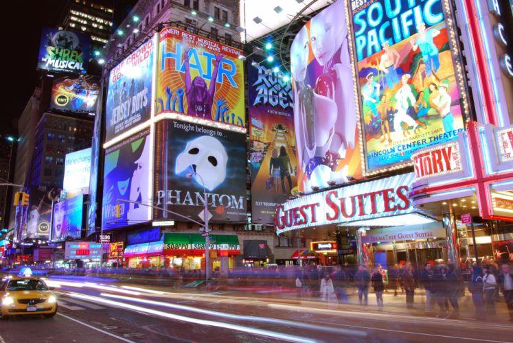 Times Square new york usa city cities k_JPG wallpaper