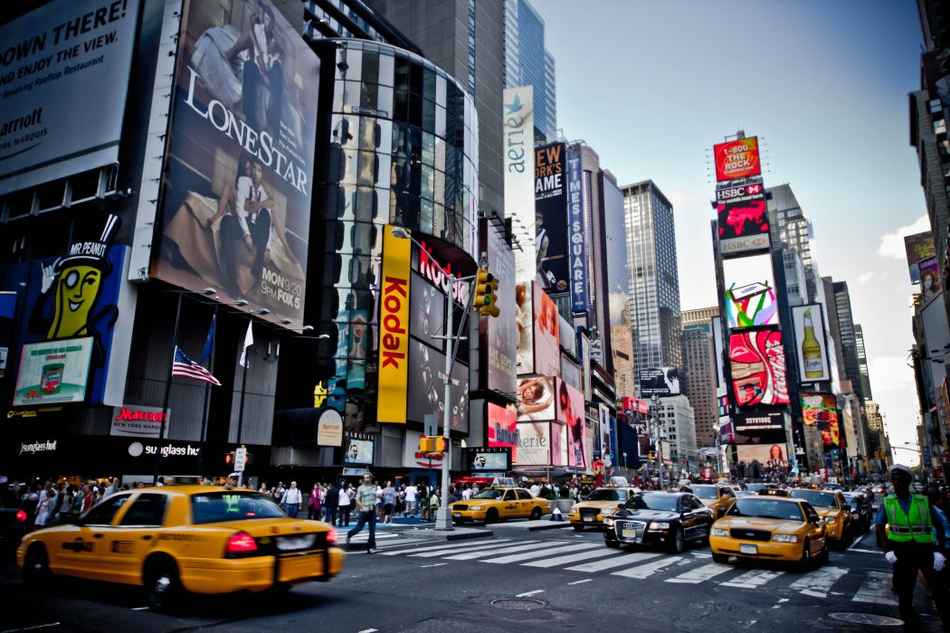 Times Square new york usa city cities traffic      h wallpaper