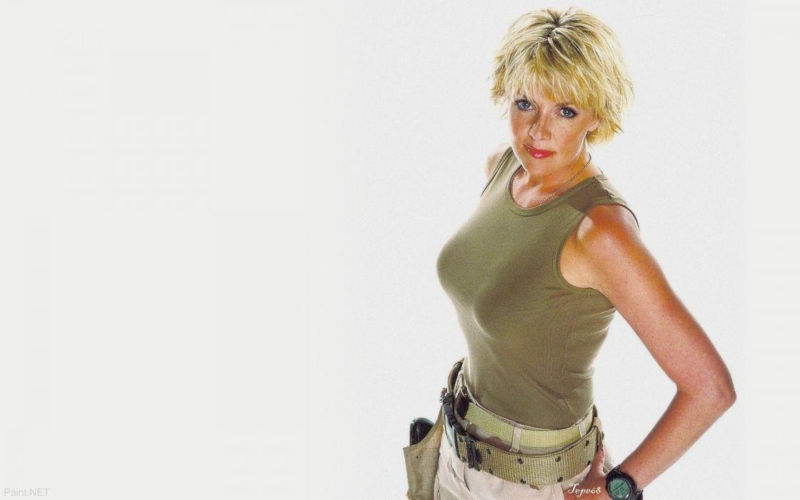 women actress Amanda Tapping wallpaper