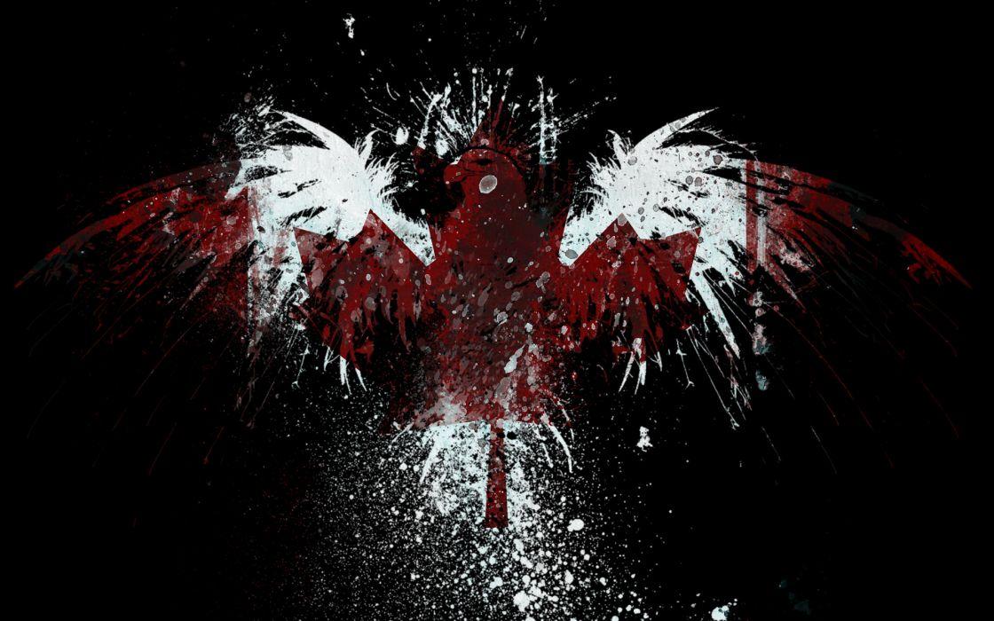 eagles Canada flags wallpaper