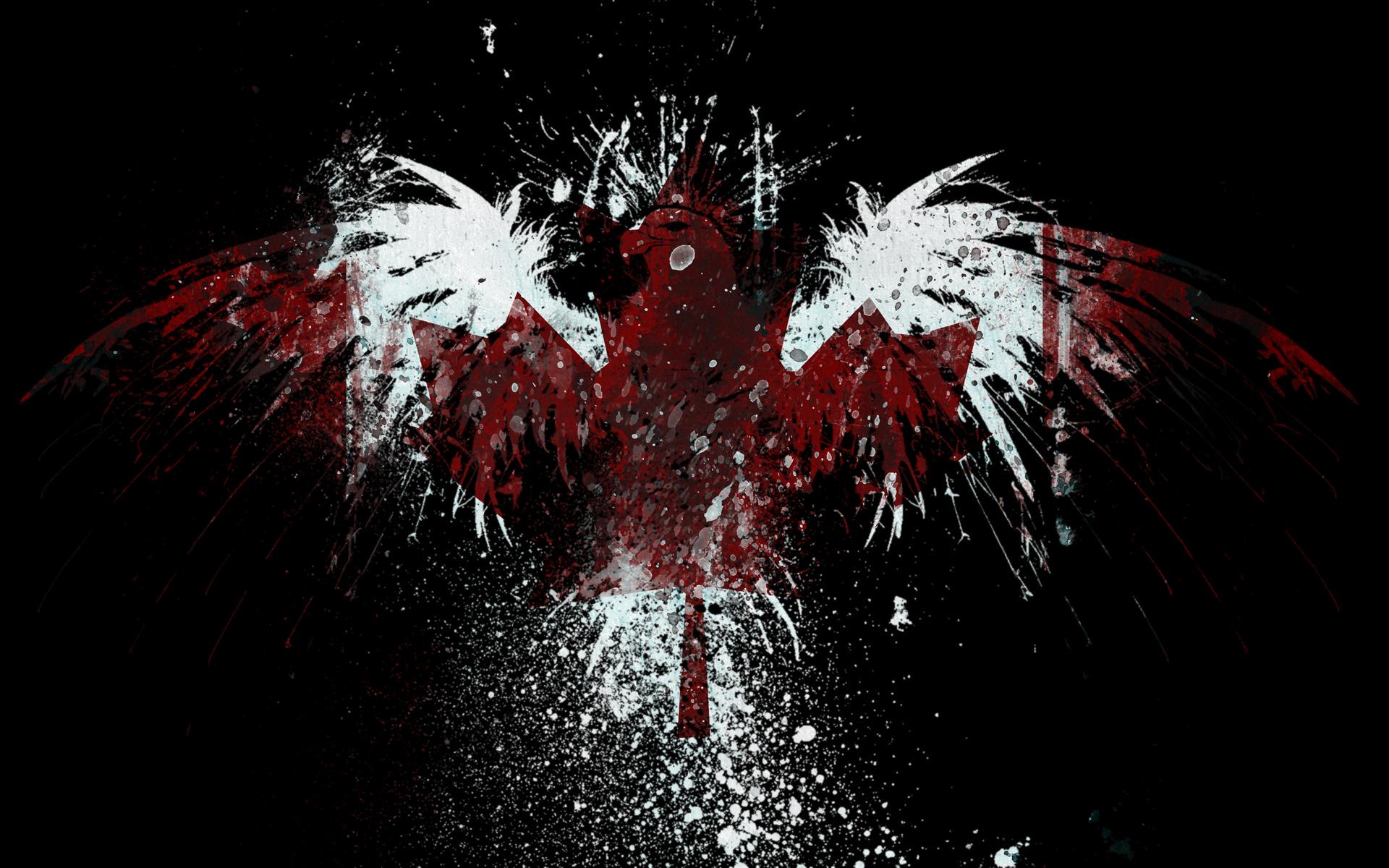 eagles canada flags wallpaper 1920x1200 197529