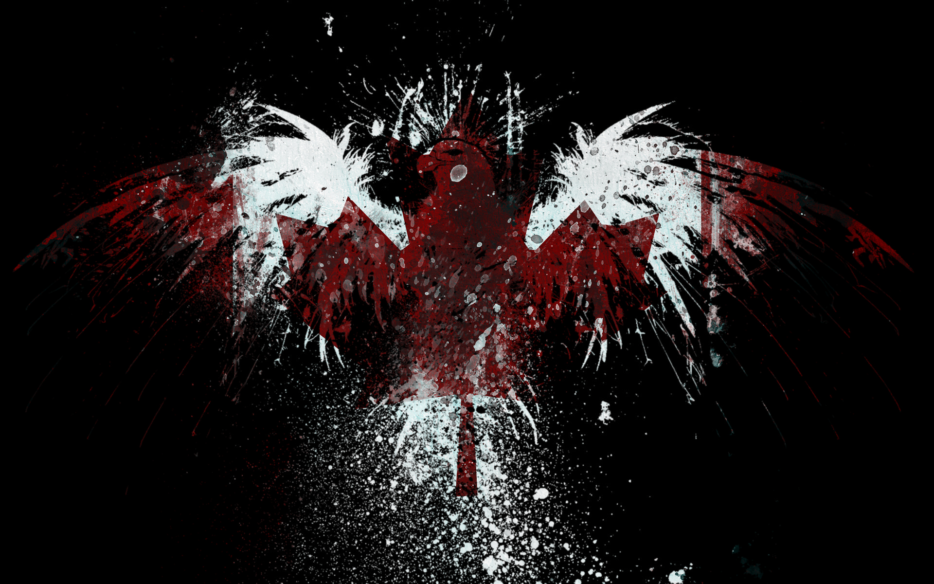 Eagles canada flags wallpaper 1920x1200 197529 - Canada flag wallpaper hd for iphone ...