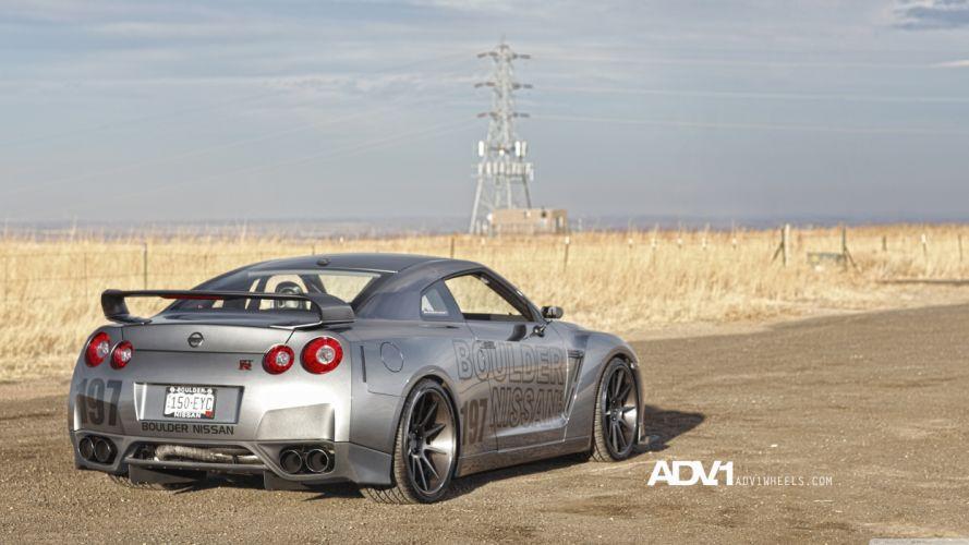 cars ADV 1 Nissan GTR wallpaper