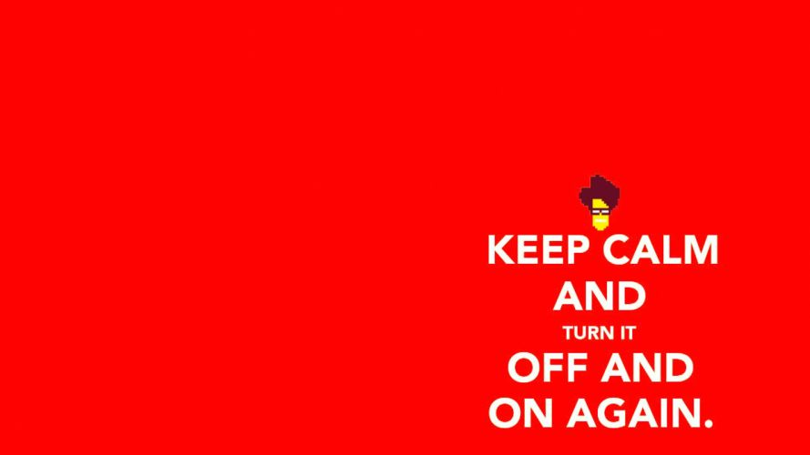text funny facts TV series Keep Calm and simple background IT crowd wallpaper