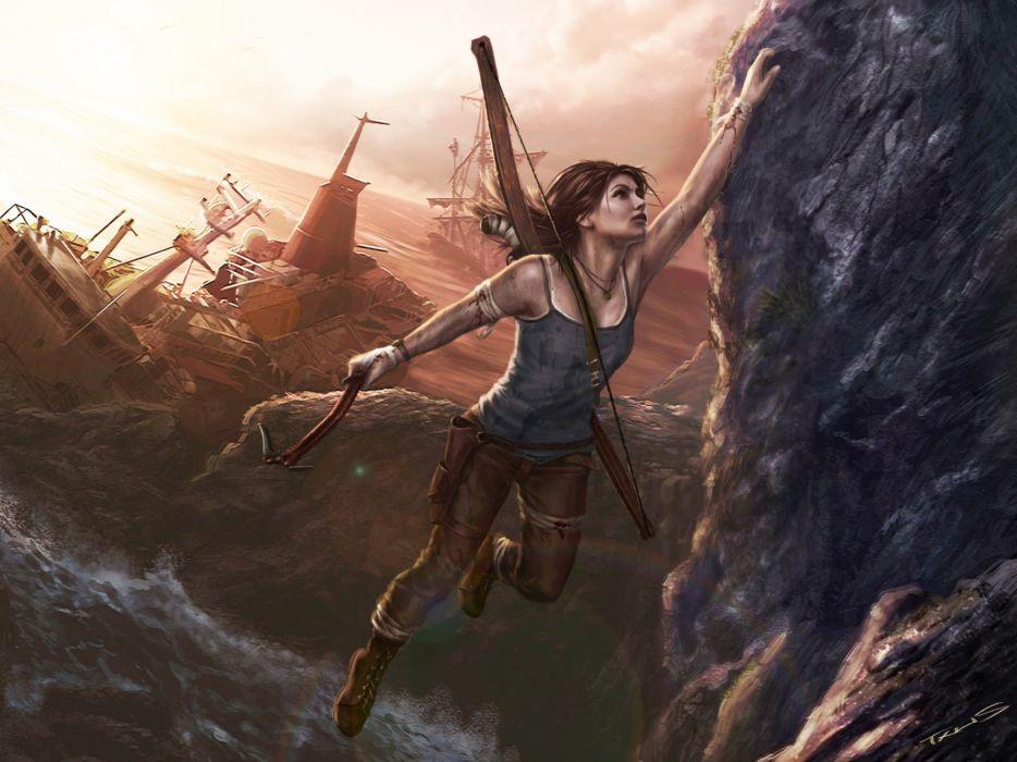Lara Croft game wallpaper