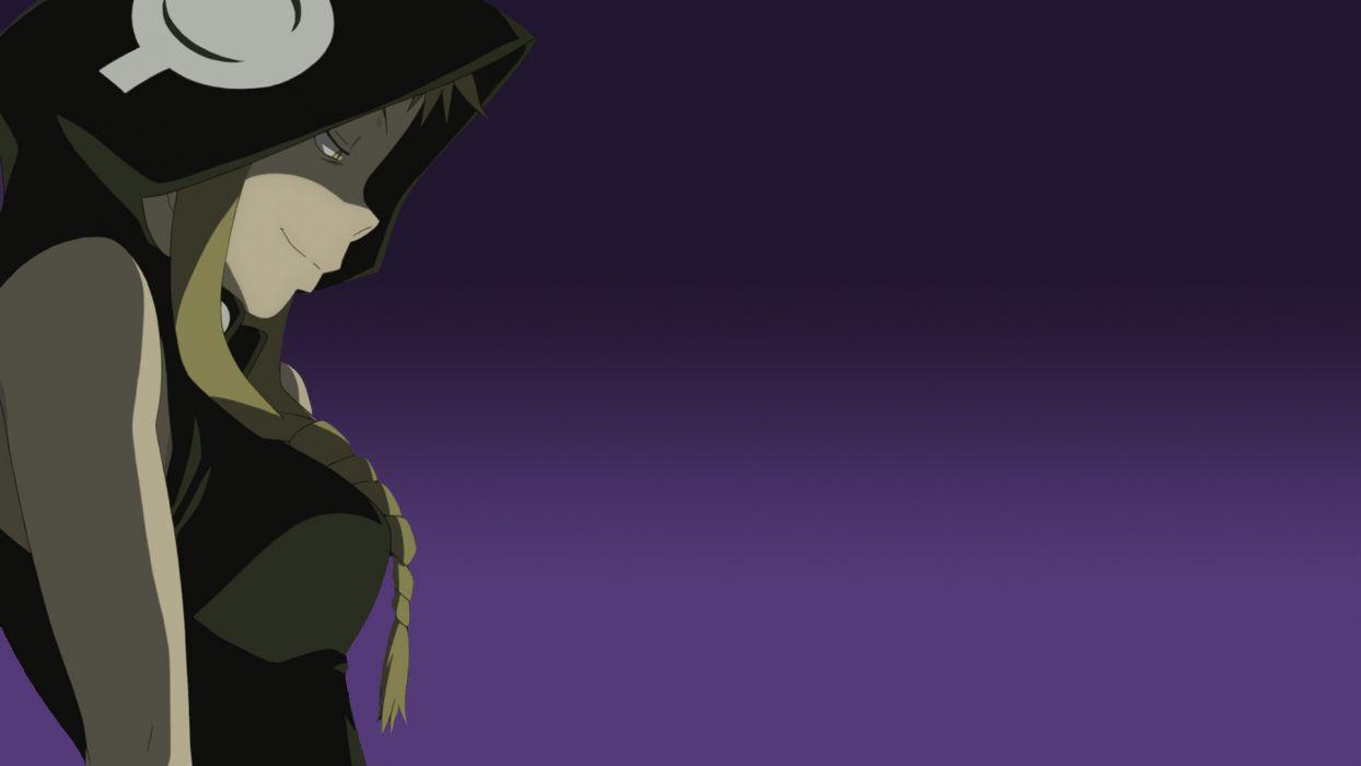 Soul Eater Medusa anime simple background anime girls wallpaper