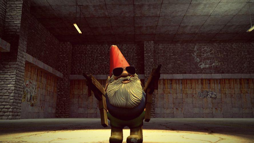 Valve Corporation Half-Life dwarfs gnomes Gnome Chompski wallpaper