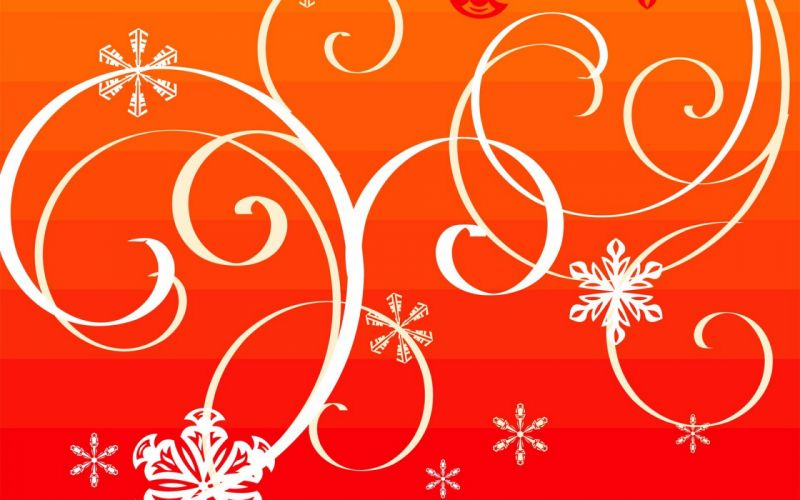 winter Christmas wallpaper