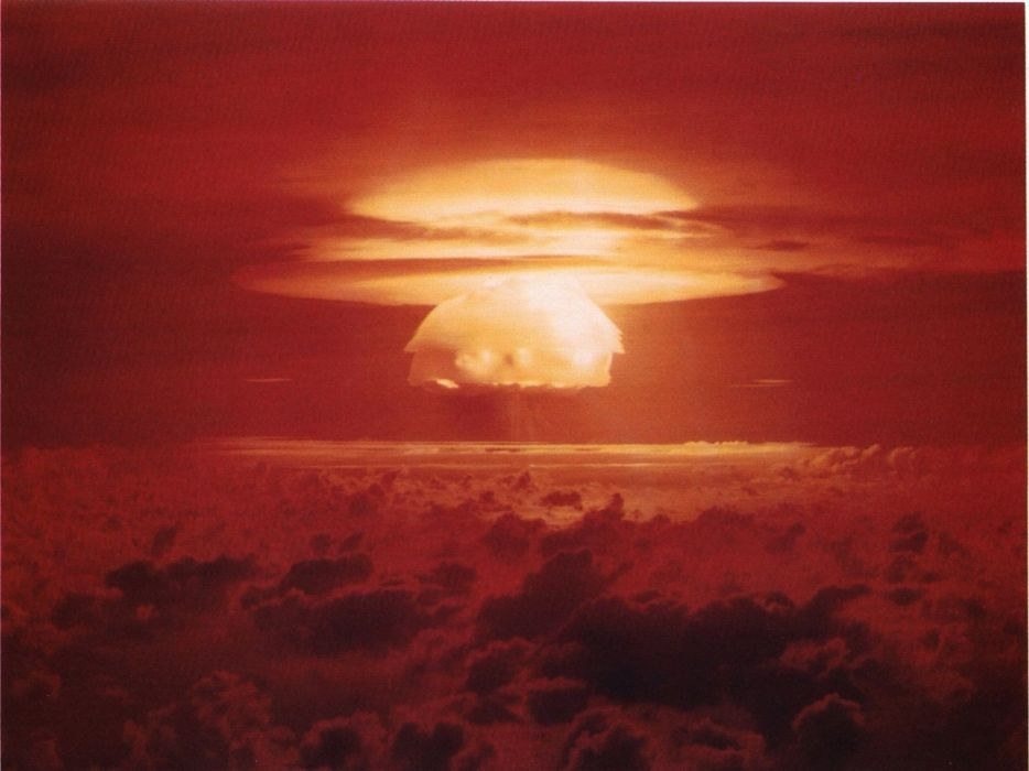 bombs nuclear explosions castle bravo wallpaper
