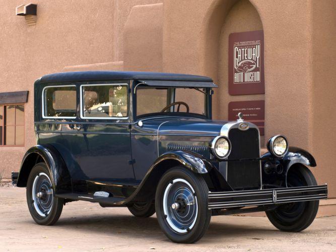 1928 Chevrolet National Coach (A-B) retro g wallpaper