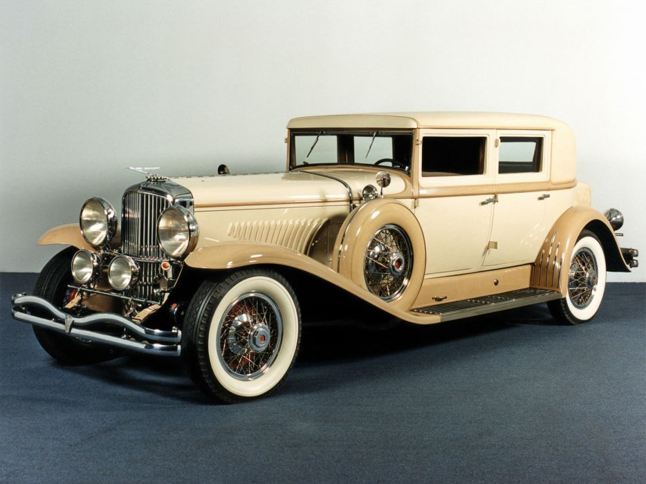 1930 Duesenberg Model-J 232-2261 Arlington Sedan LWB Derham luxury retro      f wallpaper