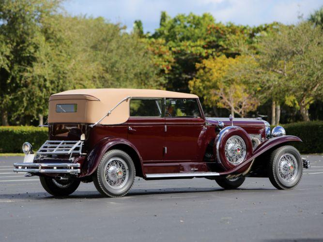 1934 Duesenberg Model-SJ 494-2515 Convertible Berline LWB LeBaron luxury retro g wallpaper