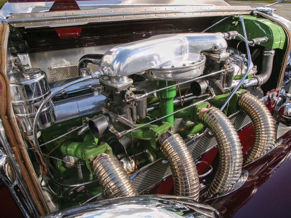 1934 Duesenberg Model-SJ 494-2515 Convertible Berline LWB LeBaron luxury retro engine  h wallpaper