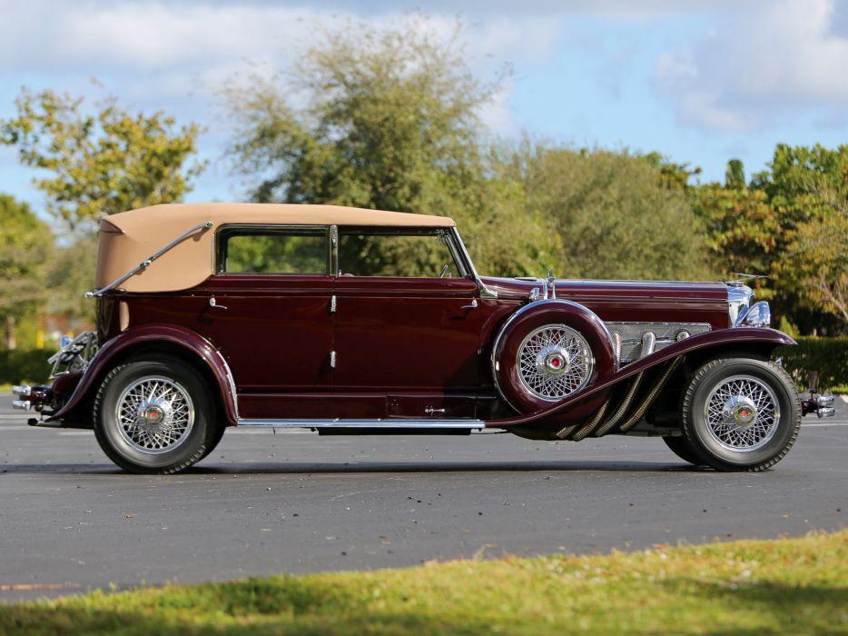 1934 Duesenberg Model-SJ 494-2515 Convertible Berline LWB LeBaron luxury retro  i wallpaper