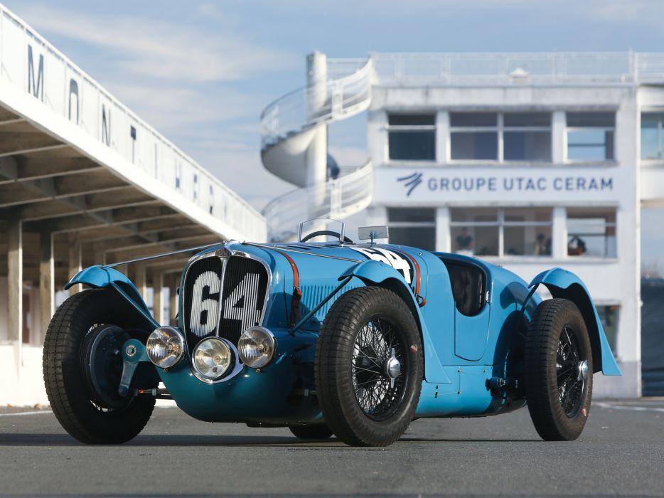 1936 Delahaye 135 retro race racing d wallpaper