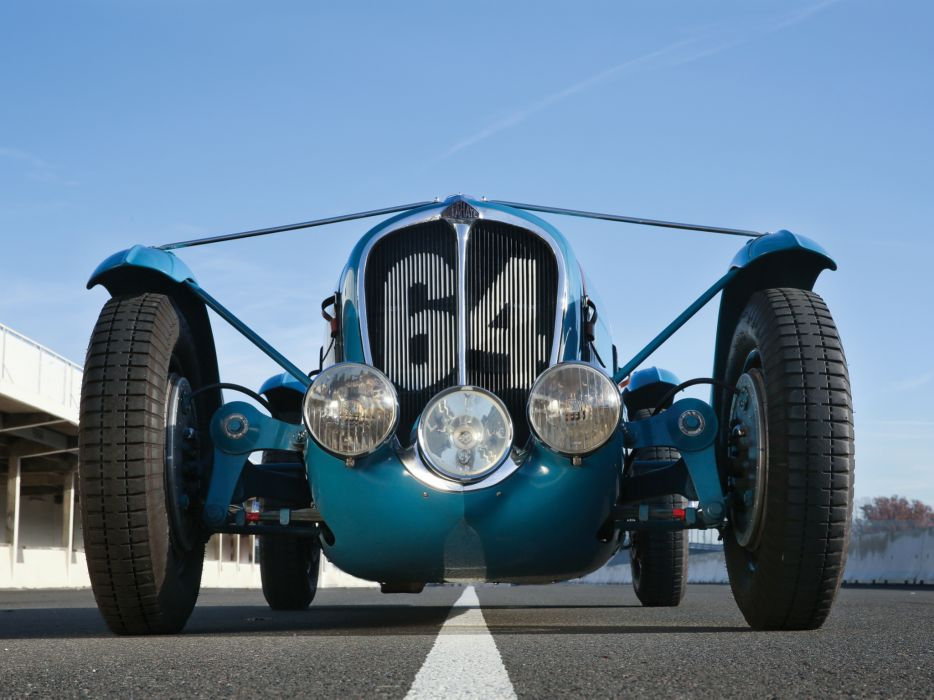 1936 Delahaye 135 retro race racing wheel    d wallpaper