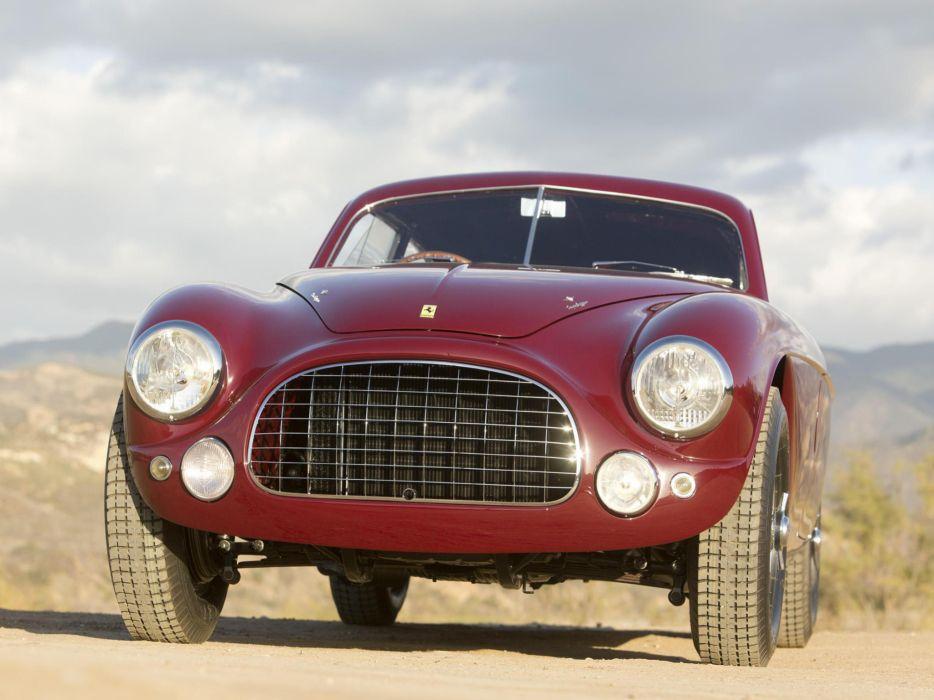 1951 Ferrari 212 Export Berlinetta supercar classic    g wallpaper