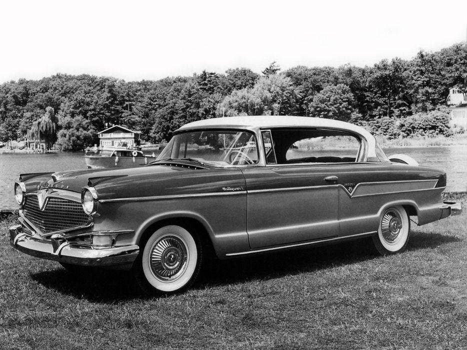 1956 Hudson Hornet Custom Hollywood Hardtop (35687-2) retro       g wallpaper