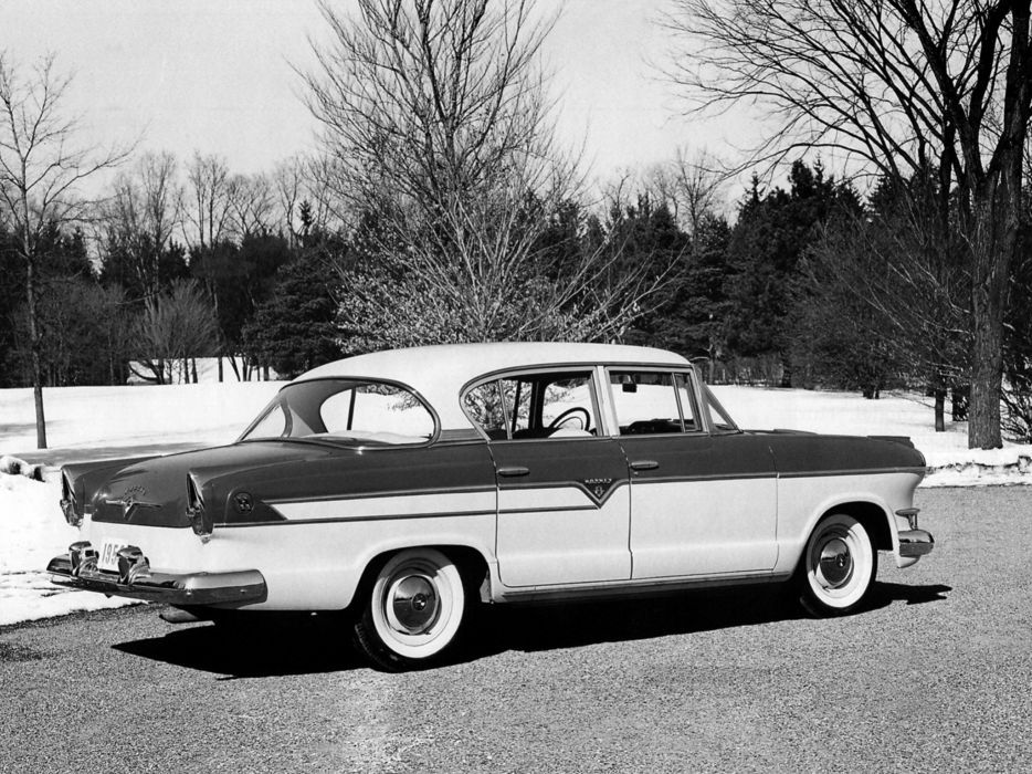 1956 Hudson Hornet Special Super Sedan (35655-1) retro        g wallpaper