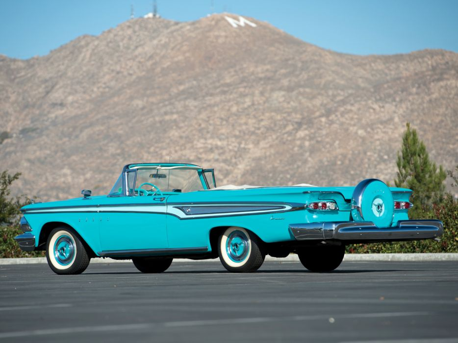 1959 Edsel Corsair 2-door Convertible 76E retro   g wallpaper