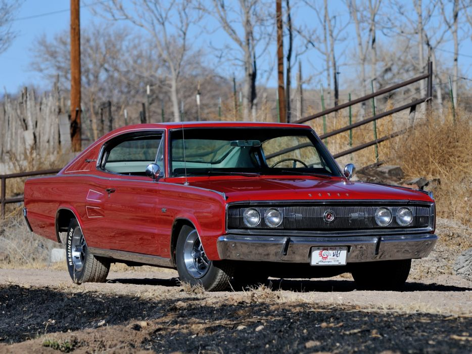 1966 Dodge Charger 383 muscle classic       g wallpaper