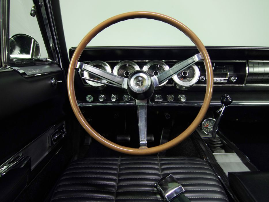 1966 Dodge Charger 383 muscle classic interior       g wallpaper