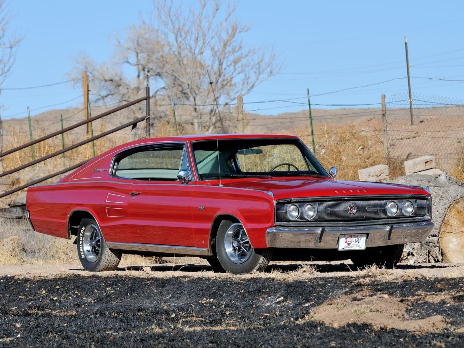 1966 Dodge Charger 383 muscle classic    t wallpaper