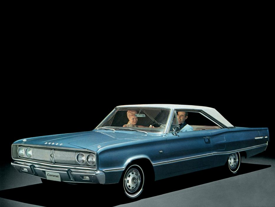 1967 Dodge Coronet 440 Hardtop Coupe (WH23) muscle classic       g wallpaper