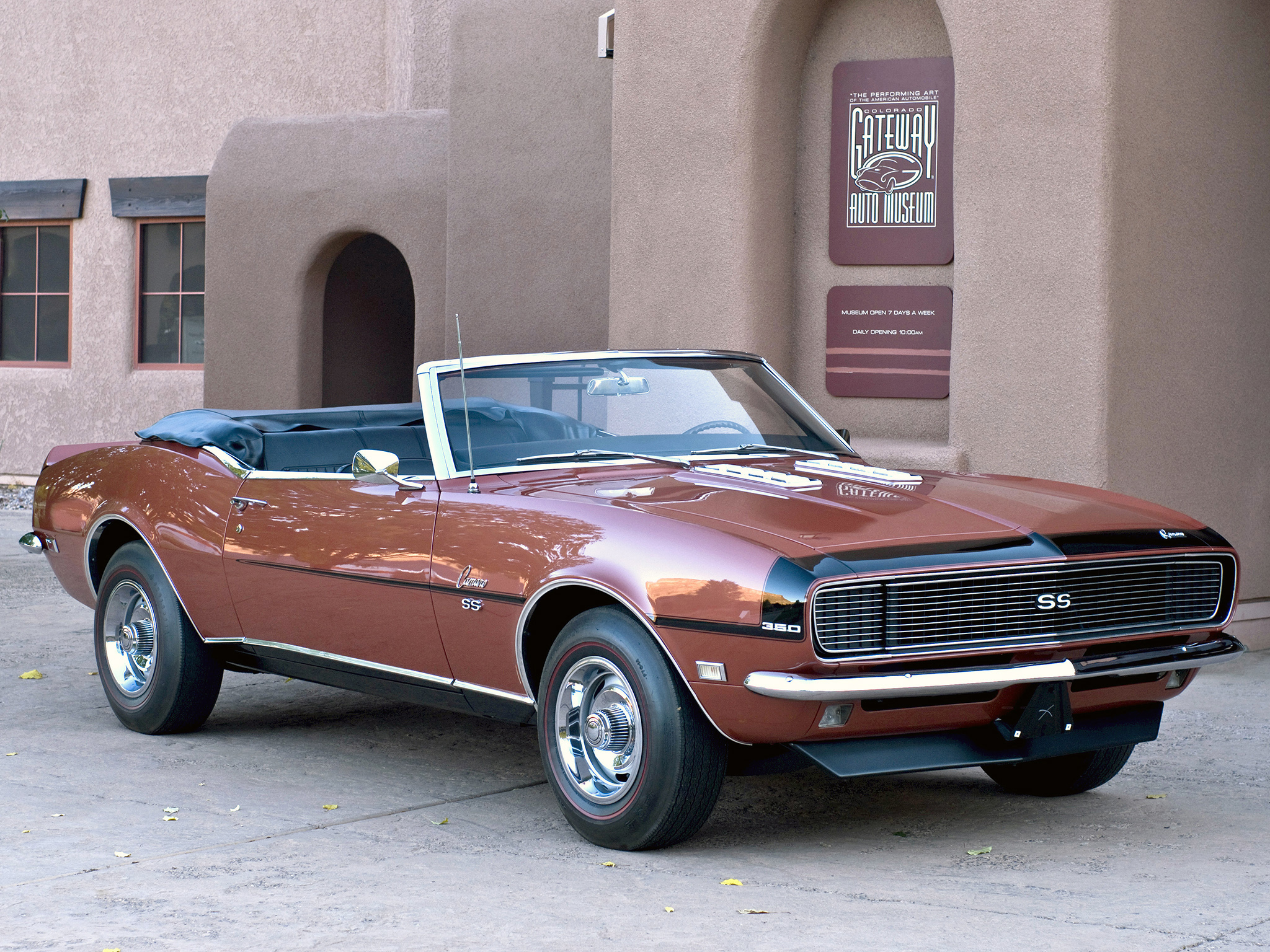 1968 Chevrolet Camaro S 350 Convertible 2467 Muscle Classic G Wallpaper 2048x1536 197773 Wallpaperup