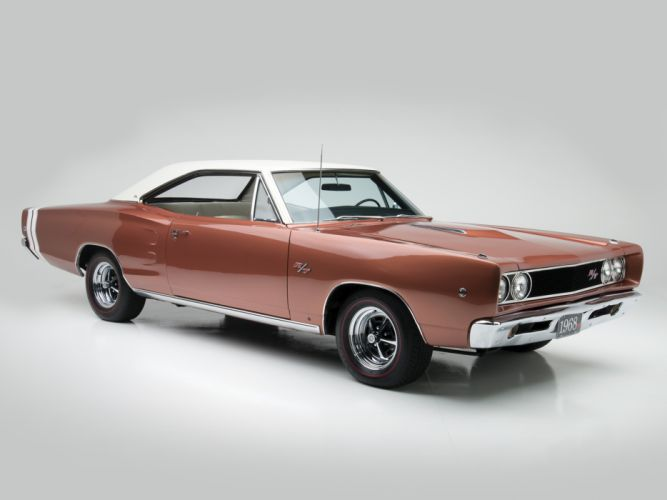 1968 Dodge Coronet R-T Hardtop Coupe (WS23) muscle classic g wallpaper