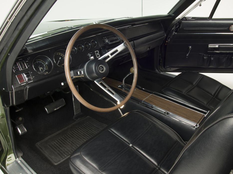 1969 Dodge Charger 500 Hemi (XX29) muscle classic interior     f wallpaper
