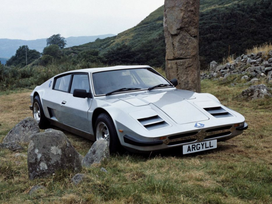 1983 Argyll Turbo G-T supercar   g wallpaper