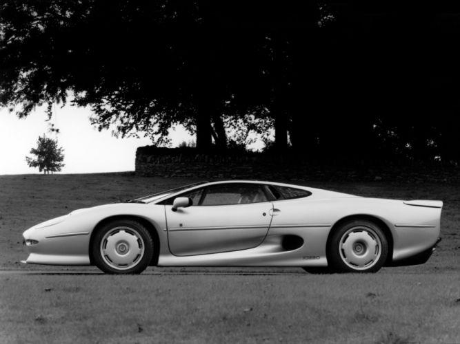 1992 Jaguar XJ220 UK-spec supercar g wallpaper