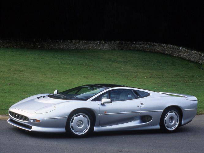 1992 Jaguar XJ220 UK-spec supercar f wallpaper