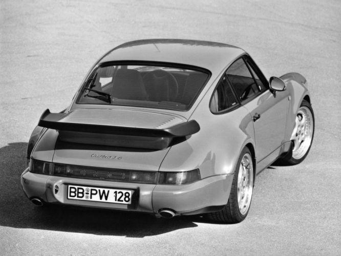 1992 Porsche 911 Turbo Coupe (964) supercar g wallpaper