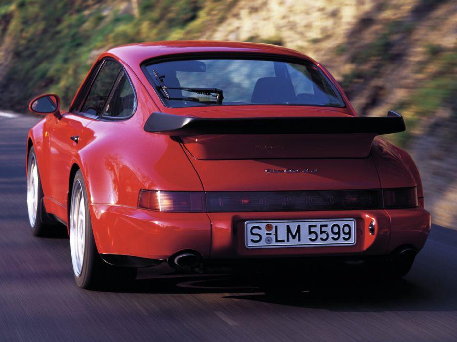 1992 Porsche 911 Turbo Coupe (964) supercar   r wallpaper
