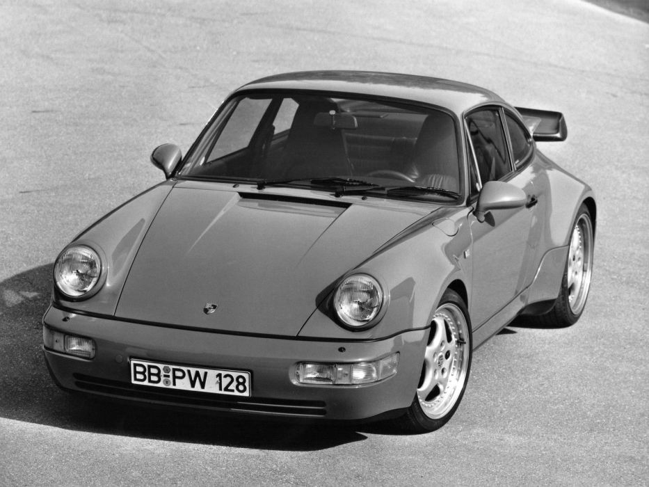1992 Porsche 911 Turbo Coupe (964) supercar   f wallpaper