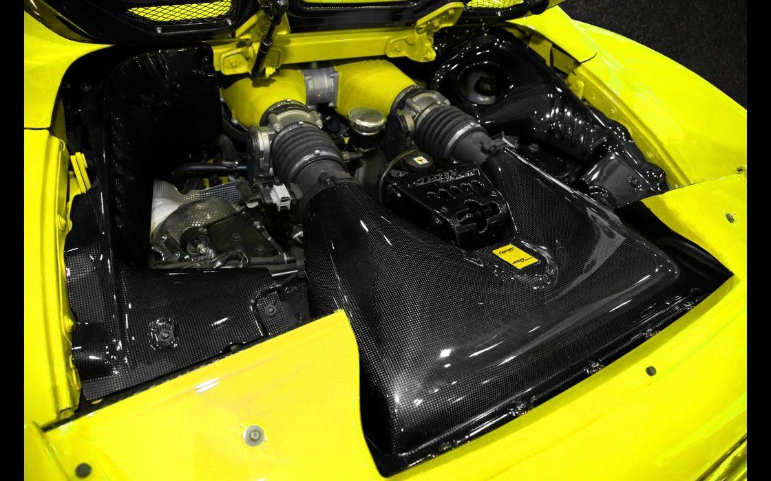 2013 Capristo Ferrari 458 Spider supercar engine      h wallpaper