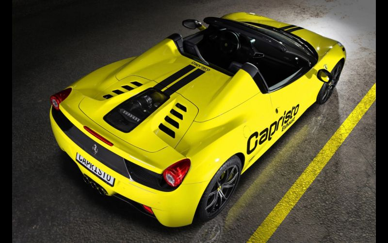 2013 Capristo Ferrari 458 Spider supercar h wallpaper