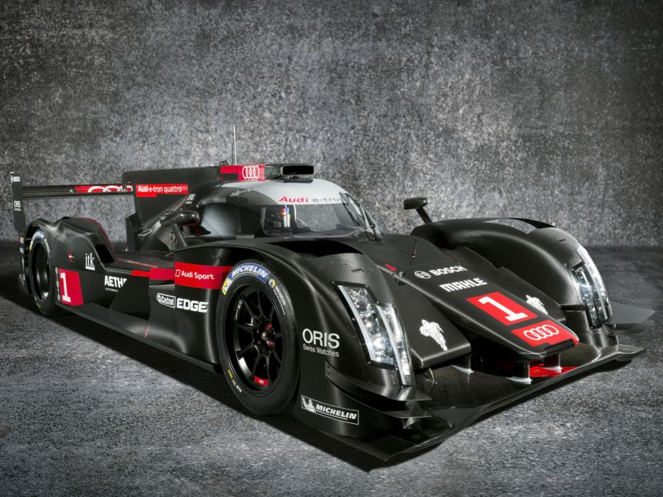2014 Audi R18 e-Tron quattro le-mans prototype race racing  g wallpaper