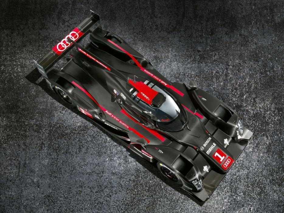 2014 Audi R18 e-Tron quattro le-mans prototype race racing      g wallpaper