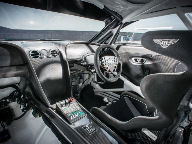 2014 Bentley Continental GT3 supercar race racing interior f wallpaper