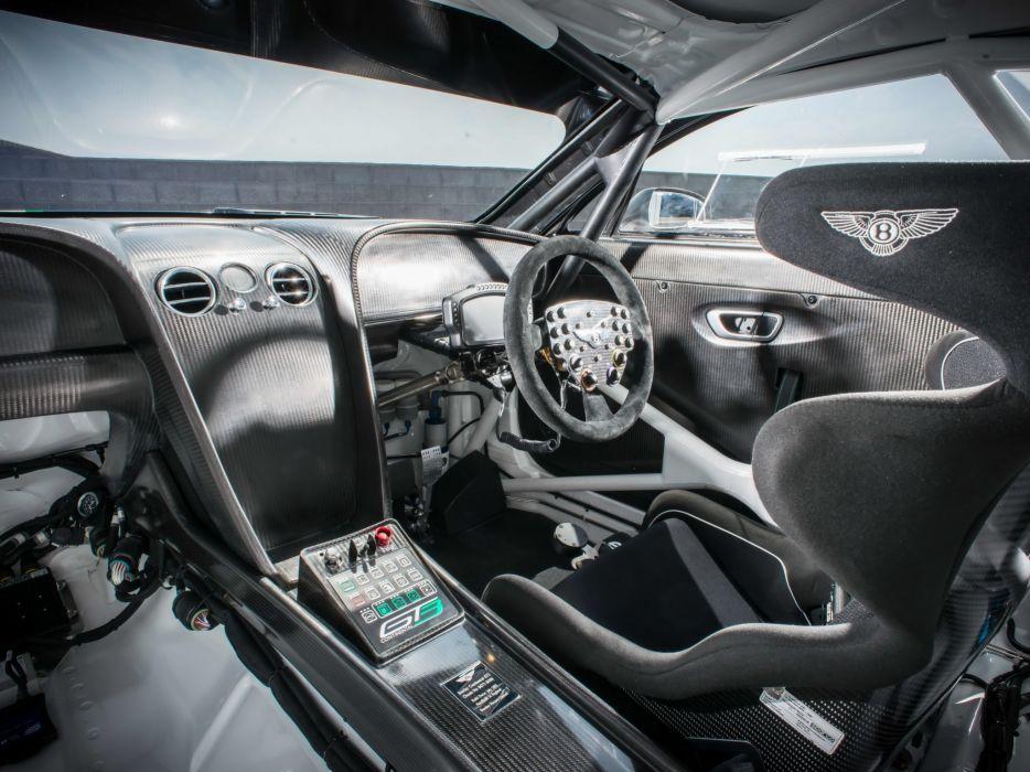 2014 Bentley Continental GT3 supercar race racing interior    f wallpaper