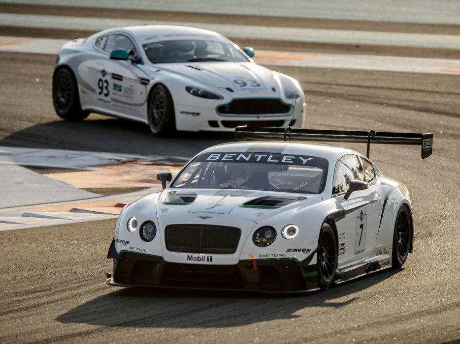 2014 Bentley Continental GT3 supercar race racing    d wallpaper