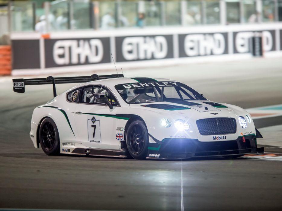 2014 Bentley Continental GT3 supercar race racing        f wallpaper