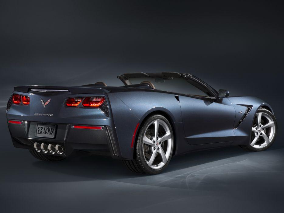 2014 Chevrolet Corvette Stingray Convertible (C-7) muscle supercar r wallpaper